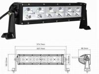 60W LED LIGHT BAR WITH 10W CREE CHIPS