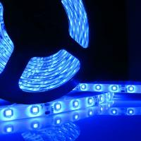 Blue Flexible LED Strip SMD 3528 300 LED Waterproof 24W 12V Car Auto