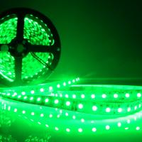 Green Flexible LED Strip SMD 3528 600 LED Non Waterproof 24W 12V Car Auto